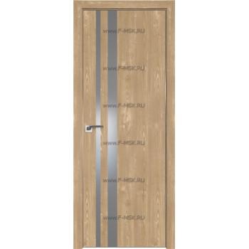 Модель 16ZN / Цвет Каштан натуральный / Стекло Lacobel Серебряный лак / Кромка Матовая с 4-х сторон
