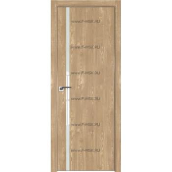 Модель 22ZN / Цвет Каштан натуральный / Стекло Lacobel Белый лак / Кромка Матовая с 4-х сторон