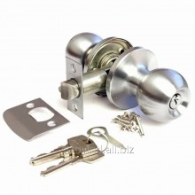 Ручка-защелка 6072 (ключ-фиксатор) Хром 607 ET CР