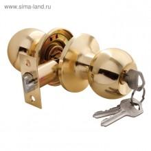 Ручка-защелка 860 (ключ/фиксатор) Золото ZS02 ET PB