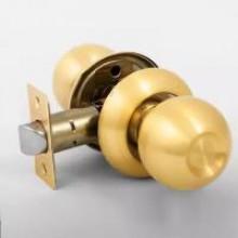 Ручка-защелка 860 (пустышка) Матовое золото ZS02 PS SB
