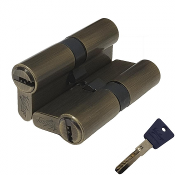 Механизм цилиндрический с повышенной секретностью P60мм - P70мм AB бронза (Товар № ZF113851)