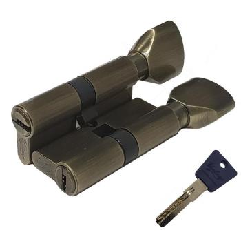Механизм цилиндрический с повышенной секретностью PC60мм-P70Cмм AB бронза (Товар № ZF113854)