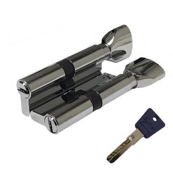 Механизм цилиндрический с повышенной секретностью PC60мм-PC80мм CP хром (Товар № ZF113857)