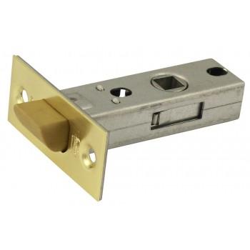 Защелка межкомнатная P45SB матовое золото (язычок пластиковый) (Товар №  ZA11631)