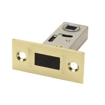 Защелка межкомнатная LM50SB матовое золото (язычок магнитный) (Товар №  ZA11634)