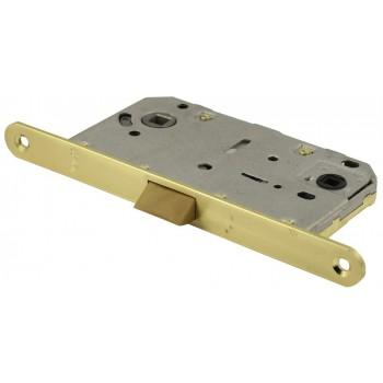 Защелка сантехническая P96SB матовое золото (язычок пластиковый) (Товар №  ZA11642)
