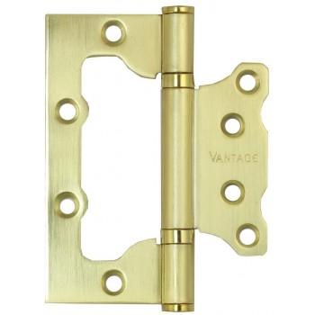 Петля универсальная 2BB-SB 100*75*2,5 матовое золото (Товар №  ZA11681)