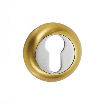 Накладки под цилиндр ETC матовое золото (Товар №  ZA11701)