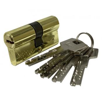 Механизм цилиндрический с повышенной секретностью серия Z Z60мм PB золото