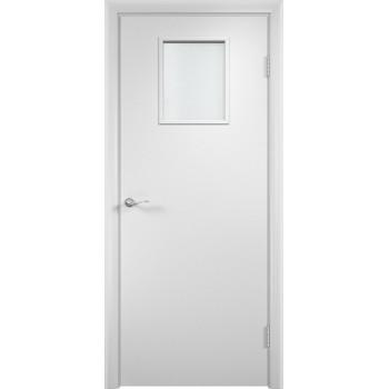 """Дверь усиленная трубчатым ДСП ламин. 31 , Цвет - Белый, Тип - Остекление """"Сатинато"""" (Товар № ZF134415)"""