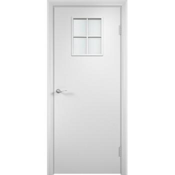 """Дверь усиленная трубчатым ДСП ламин. 34 , Цвет - Белый, Тип - Остекление """"Сатинато"""" (Товар № ZF134431)"""
