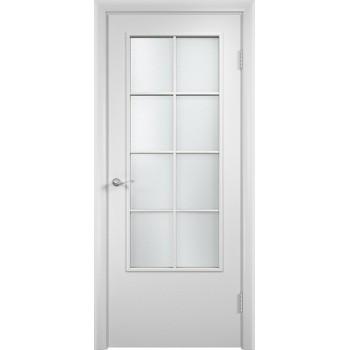 """Дверь усиленная трубчатым ДСП ламин. 57 , Цвет - Белый, Тип - Остекление """"Сатинато"""" (Товар № ZF134455)"""