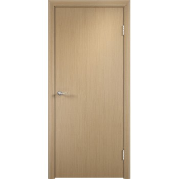Дверь усиленная трубчатым ДСП ламин. ДПГ , Цвет - Беленый дуб, Тип - Глухое (Товар № ZF134808)