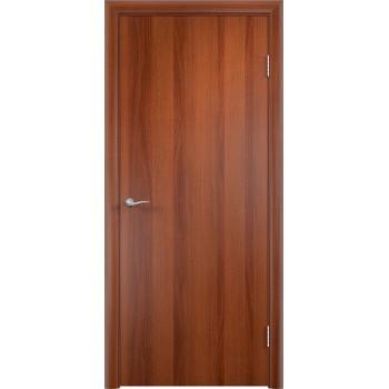 Дверь усиленная трубчатым ДСП ламин. ДПГ , Цвет - Итальянский орех, Тип - Глухое (Товар № ZF134810)