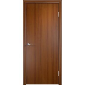 Дверь усиленная трубчатым ДСП ламин. ДПГ , Цвет - Лесной орех, Тип - Глухое (Товар № ZF134811)