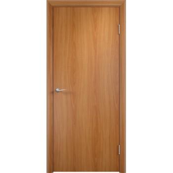 Дверь усиленная трубчатым ДСП ламин. ДПГ , Цвет - Миланский орех, Тип - Глухое (Товар № ZF134812)