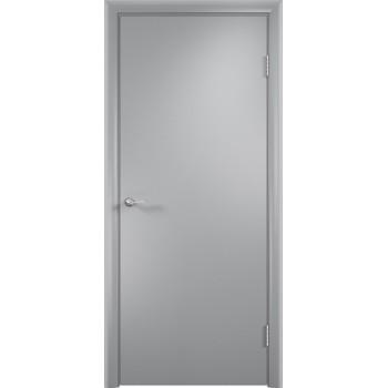 Дверь усиленная трубчатым ДСП ламин. ДПГ , Цвет - Серый, Тип - Глухое (Товар № ZF134813)
