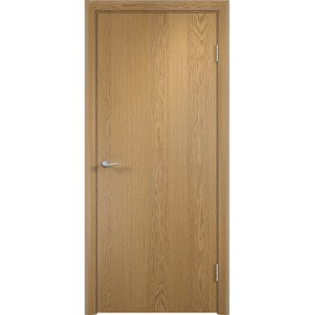 Дверь усиленная трубчатым ДСП ламин. ДПГ , Цвет - Светлый дуб, Тип - Глухое (Товар № ZF134814)