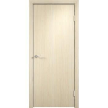 Дверь усиленная трубчатым ДСП ПВХ ДПГ , Цвет - Беленый дуб, Тип - Глухое (Товар № ZF134816)