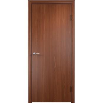 Дверь усиленная трубчатым ДСП ПВХ ДПГ , Цвет - Итальянский орех, Тип - Глухое (Товар № ZF134818)