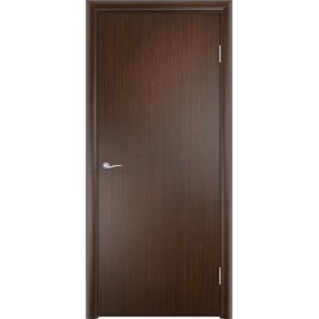 Дверь усиленная трубчатым ДСП ПВХ ДПГ , Цвет - Венге, Тип - Глухое (Товар № ZF134820)