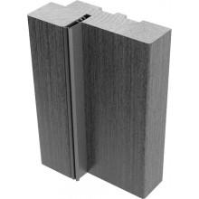 Дверные пороги Eldorf 3D , Цвет - Дуб дымчатый, Тип - Для однопольной двери, Размер - 70*26*1075 (Товар № ZF135602)
