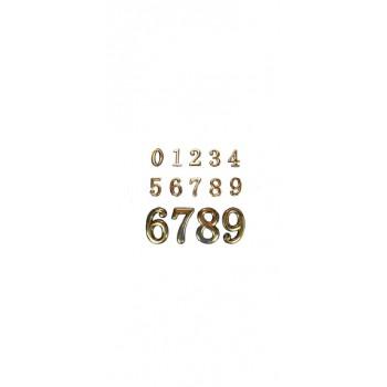 Дверные номерки , Цвет - Без цвета, Тип - №8 (Товар № ZF136182)