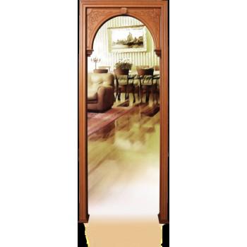 Арка Александрия , Цвет - Венге, Тип - Резная, Размер - 220*100*30*7 (Товар № ZF137800)