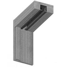 Коробки МДФ для складной двери  , Цвет - Светлый дуб, Тип - Для двупольной двери, Размер - 70*24*2037 (Товар № ZF132253)