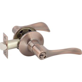 Ручка-защелка 891 (с ключом) , Цвет - Бронза (Товар № ZF134244)