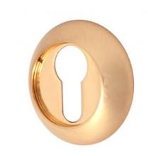Накладка под цилиндр круглая , Цвет - Золото (Товар № ZF134257)