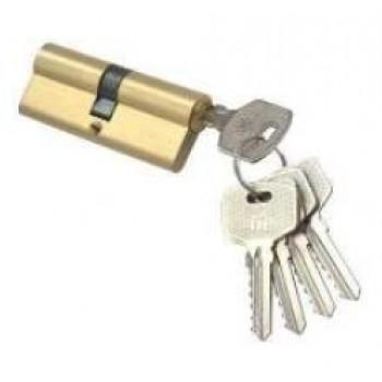 Цилиндр N-60 Domax  (ключ-ключ) , Цвет - Хром (Товар № ZF134288)