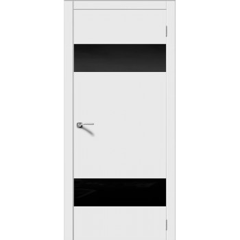 """Лайн 3 , Цвет - Белый, Тип - Стекло """"Лакобель черное""""  (Товар № ZF167402)"""