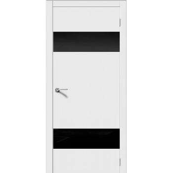 """Лайн 3 , Цвет - Белый, Тип - Стекло """"Лакобель черное""""  (Товар № ZF167403)"""