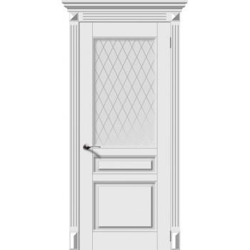 """Версаль-Н , Цвет - Белый, Тип - Остекление """"Белое матовое Кристалл"""" (Товар № ZF200517)"""