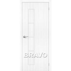 Дверь экошпон Тренд-3 в цвете Snow Veralinga (Товар №  ZF38292)